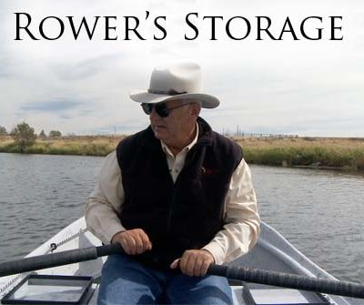 Rower's Seating & Storage
