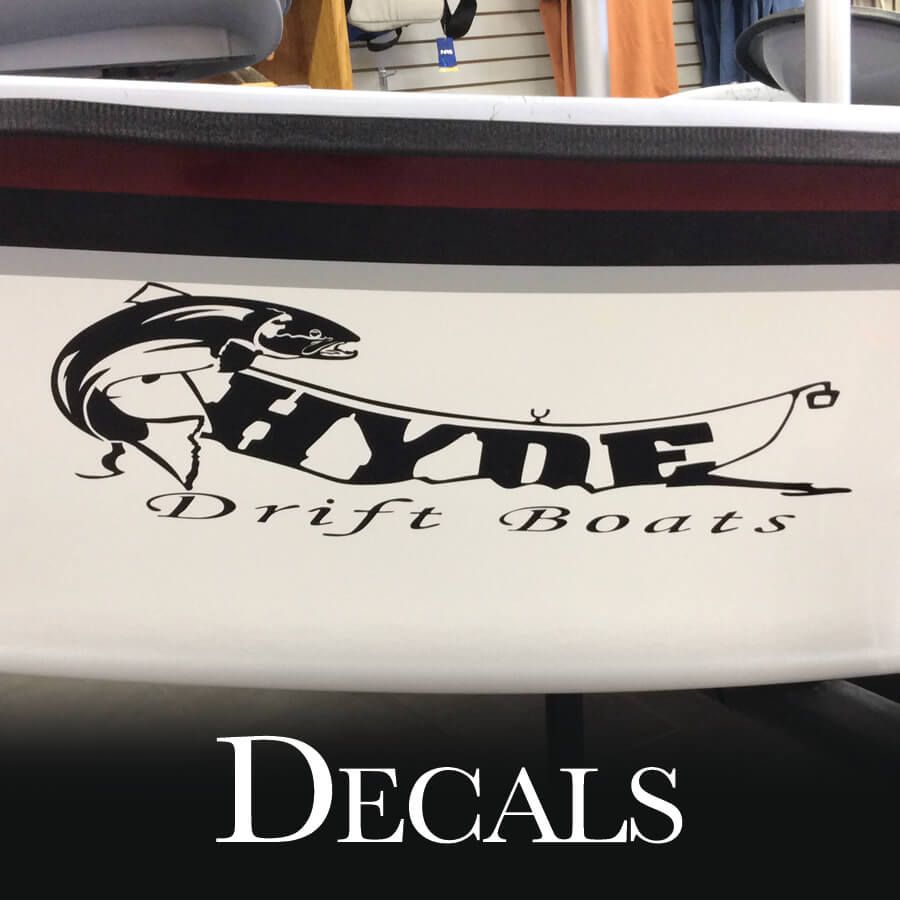 Boat & Vehicle Decals (Stickers)