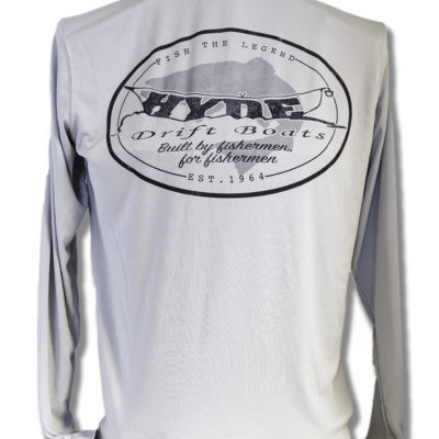 Grey Hyde Shirt - fishing equipment idaho falls
