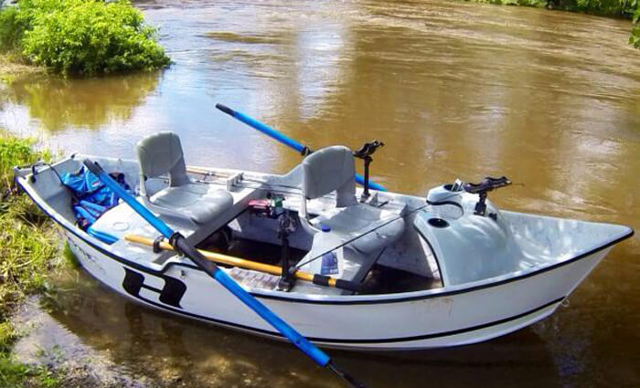 Hyde drift boats new used drift boat sales manufacturing for Best river fishing boat